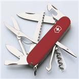 VICTORINOX HUNTSMAN SWISS ARMY KNIFE - RED