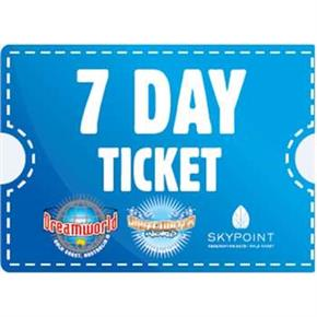 DREAMWORLD 7 DAY TICKET ADULT