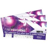 HOYTS NATIONAL RESTRICTED 4 ADULT CINEVOUCHERS